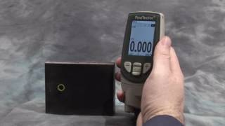 видео Ультразвуковой толщиномер PosiTector UTG