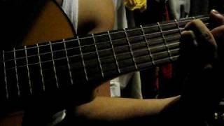 rurouni kenshin departure (guitar cover)