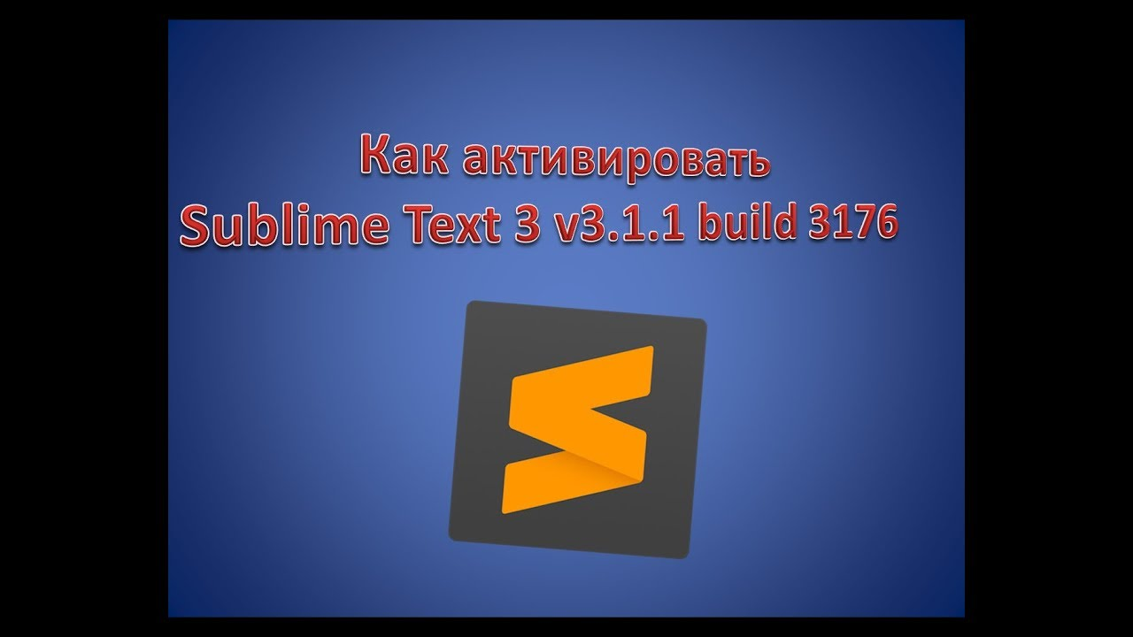 Sublime text 3 build 3176 licence key