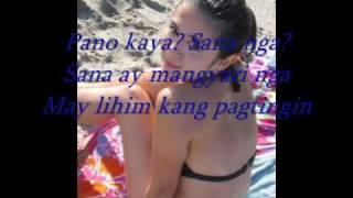 Lihim na Pagtingin by Antonette Taus with lyrics