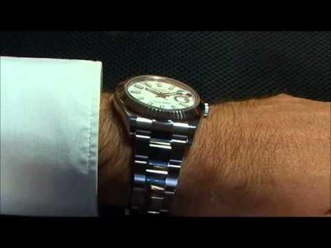 Rolex Datejust Ii 41 Mm 116334 Youtube