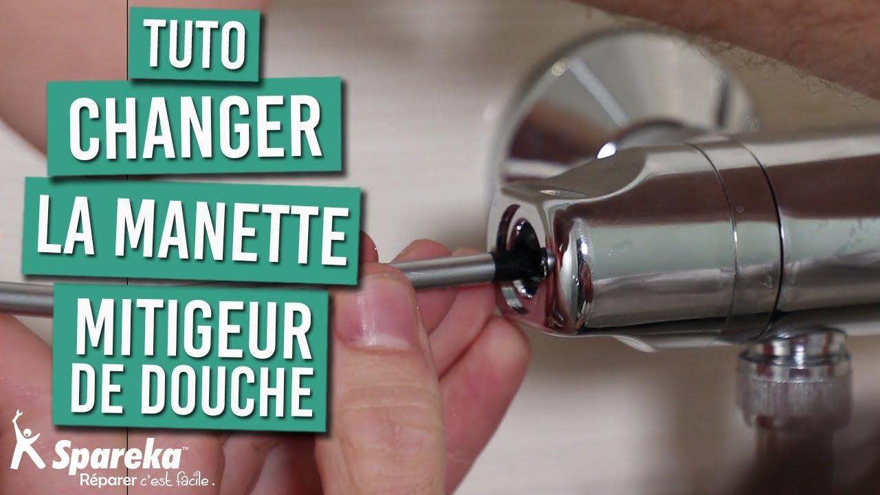 Comment changer la manette de réglage de votre mitigeur thermostatique de  douche