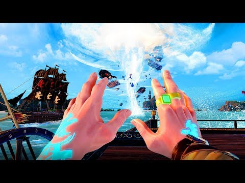 Intense New VR Game Lets You Rule As Pirate Gods! (Battlewake)