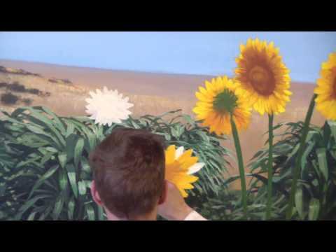 Painting Bright Sunflowers