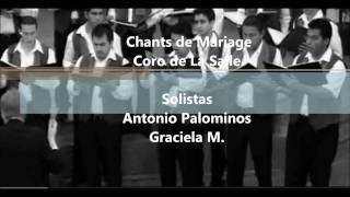 Chants de marieg -Antonio Palominos