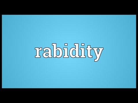 Header of rabidity