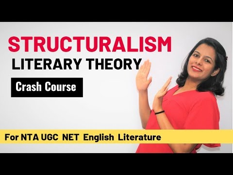 Structuralism Literary Theory: Crash Course For UGC NET English