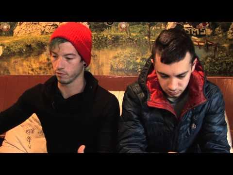 Twenty One Pilots interview - Tyler and Josh...