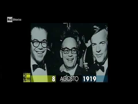 (anniversari-nascita 1919) ** 8 agosto ** Torre Annunziata (NA): Dino De Laurentiis, film producer