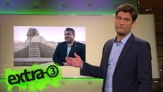 Christian Ehring über Sigmar Gabriels Reise nach Ägypten | extra 3 | NDR