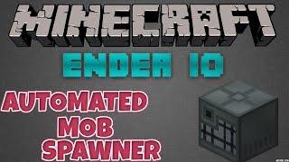 Minecraft   ENDER IO   Automated Mob Spawner Farm   1.7.10 /1.10.2