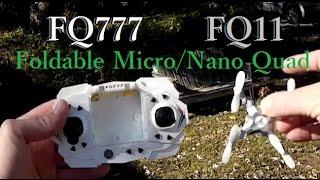 FQ777 FQ11 Performance Test Flight , Foldable Micro Nano Quadcopter