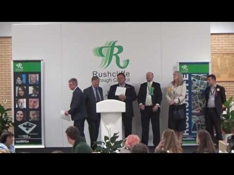 Rushcliffe - General Election - Declaration