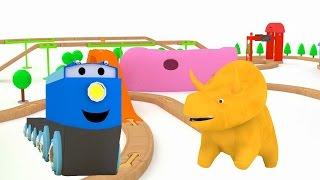 Lerne Farben, Lerne Zahlen mit Dino der Dinosaurier | Lehrreiche Cartoons für Kinder und Kleinkinder