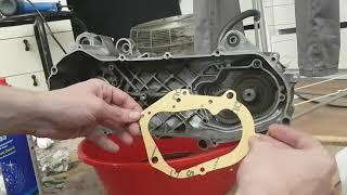 Remontage bas moteur nitro