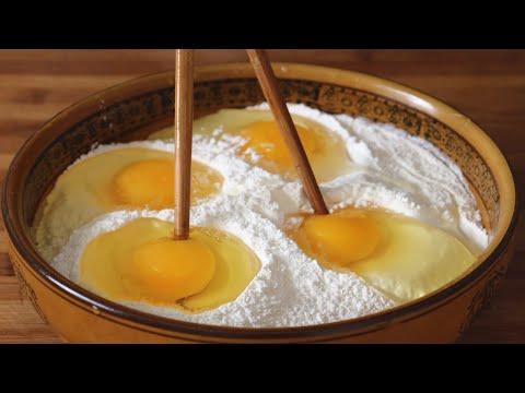 一碗面粉,4个鸡蛋,教你做儿童小零食,超简单!