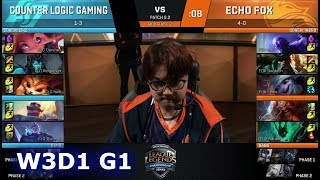 Video CLG vs Echo Fox | Week 3 Day 1 of S8 NA LCS Spring 2018 | CLG vs FOX W3D1 G1 download MP3, 3GP, MP4, WEBM, AVI, FLV Juni 2018