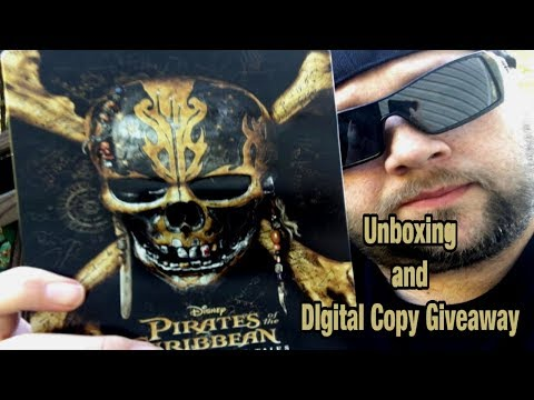 Pirates of the Caribbean: Dead Men Tell No Tales Steelbook | Digital copy giveaway