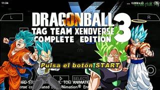 Hướng dẫn tải game DRAGON BALL Z TENKENCHI TAG VS TEAM MOD SUPER BROLY V 11.