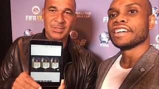 Gullit reacts to his fifa 18 stats!!! (fiwc 2017 vlog w/ matthdgamer, spencer fc, hashtag united)