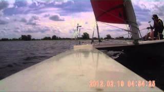 Dart 18 Catamaran sailing capsize