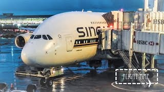 Top 10 Airlines - ✈FLIGHT REPORT✈ Singapore Airlines Airbus A380 | New York (JFK) - Frankfurt | Economy