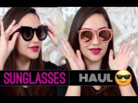 08c9fc7407 Fall Sunglasses HAUL + Try-On! by Julie G