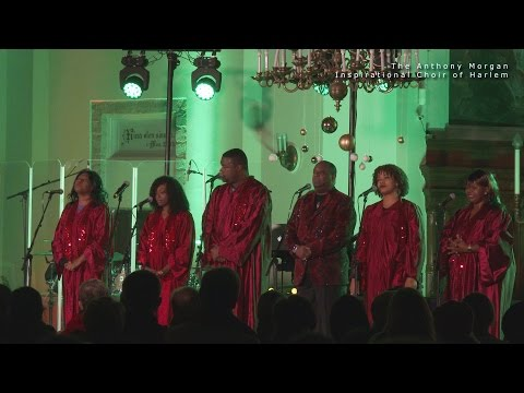 The Anthony Morgan Inspirational Choir of Harlem 07 December 2014 in St Charles Church of Tallinn