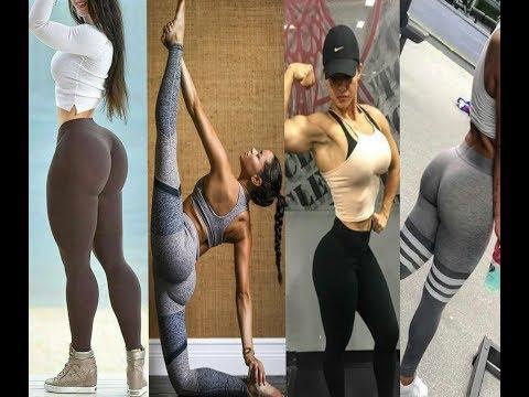 Girls Fitness || Girls in Gym|| Yoga girls in yoga dress