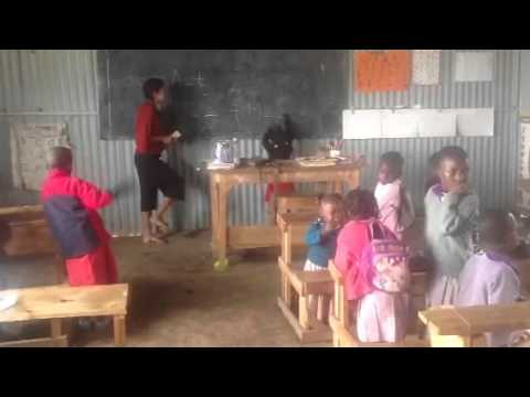 "Preschool in the Masai: ""WELL DONE song"""