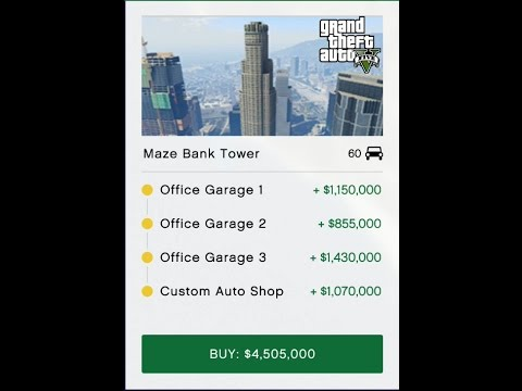 GTA5 - How to get your Executive Office Garages