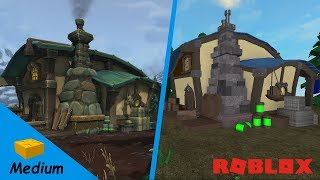 ROBLOX STUDIO SPEED BUILD / Tiragarde Sound House / World of Warcraft