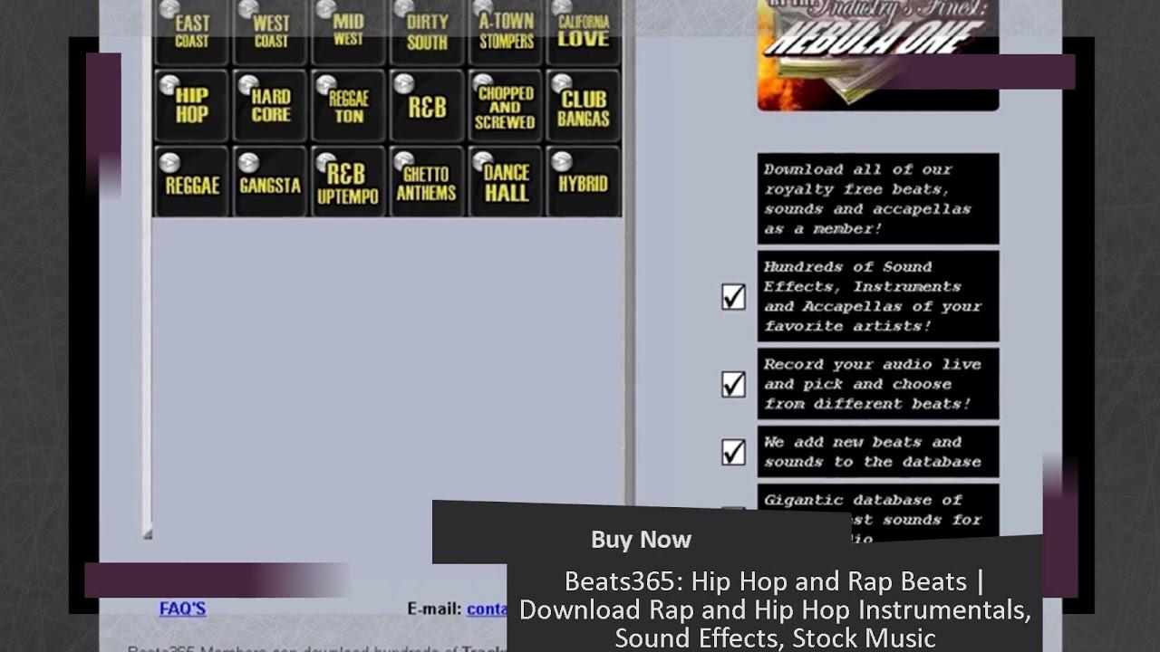 Beats365: Hip Hop and Rap Beats | Download Rap and Hip Hop Instrumentals,  Sound Effects, Stock Music
