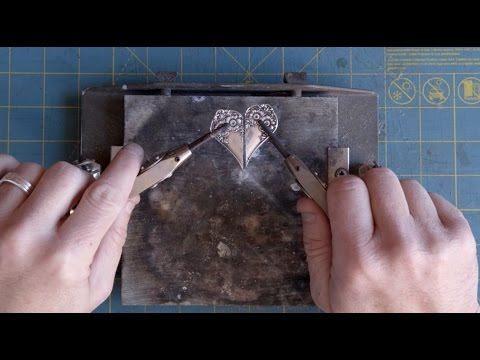 The Making of Silver Spoon Jewelry: SPOON HEART NECKLACE