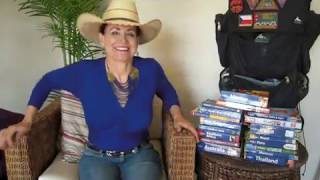 The Woman On Fire. Karen Custer Thurston.  Top Ten Countries for BackPacking #2