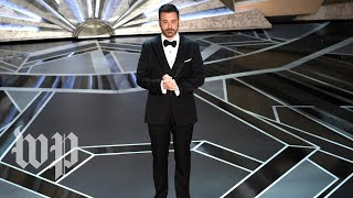 Jimmy Kimmel's funniest moments from the Oscars
