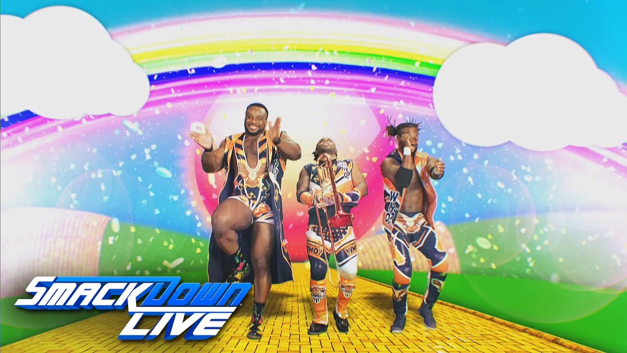 The New Day is coming soon to SmackDown: SmackDown LIVE, April 25, 2017