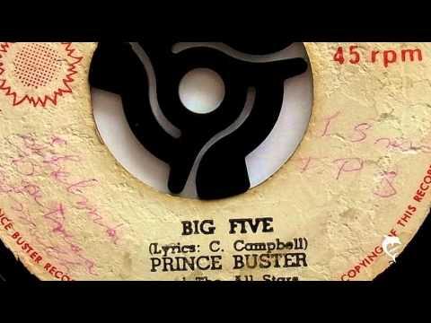 Prince Buster  Big Five UNCENSORED