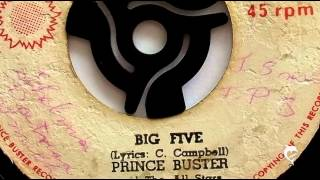Watch Prince Buster Big Five video