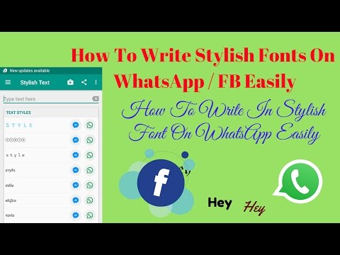 Stylish Fonts For Whatsapp Facebook Messenger Instagram And More