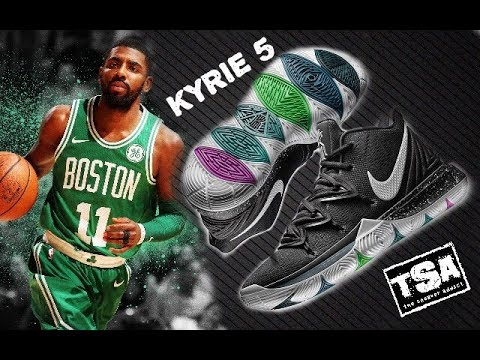 ea8bc673040f NIKE KYRIE IRVING 5 BASKETBALL SNEAKER UNVEILED - FIRST IMPRESSION ...