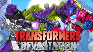 Transformers Devastation All Cutscenes (Game Movie) - with All Boss Fight and Ending