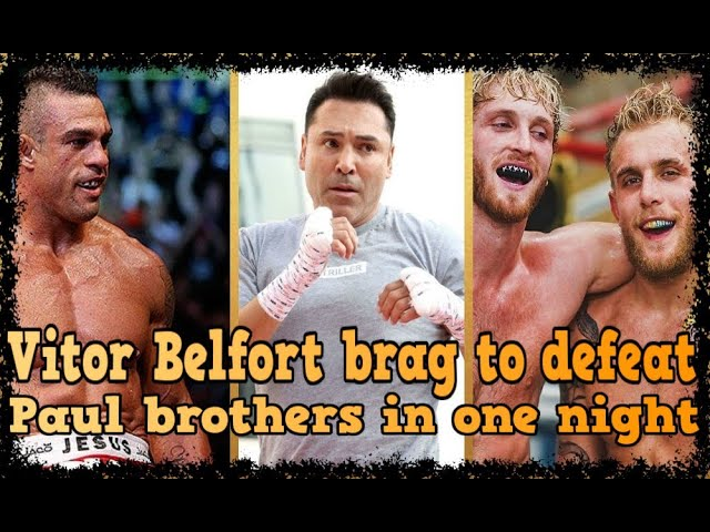 VITOR BELFORT BRAG TO DEFEAT PAUL BROTHERS IN ONE NIGHT