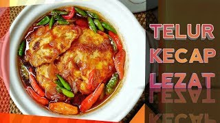 Resep Mudah Cara Membuat Telur Kecap Lezat | How to easily make delicious soy sauce eggs ??