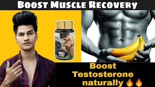 Boost Muscle Recovery🔥🔥 | Nature Sure Muscle Charge Tablet Review |
