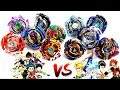 God Beigoma Academy VS The Big Five -TEAM BATTLE- Beyblade Burst Evolution!神  米駒学園 vs ビッグ5