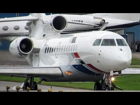 Government of Togo (Presidential flight) Falcon 7X (FA7X) departing Montreal (YUL/CYUL)