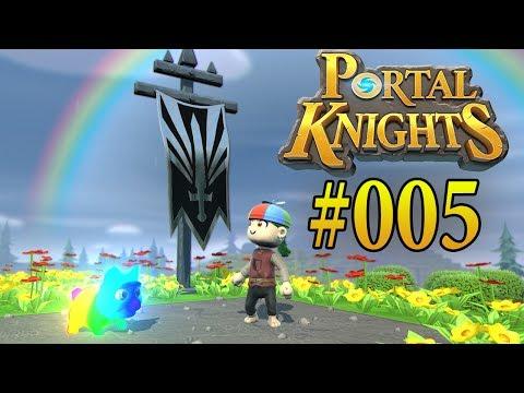 PORTAL KNIGHTS PS4 PART 5 - REGENBOGENINSEL & DLC GESCHENKE   Let´s Play Portal Knights Deutsch