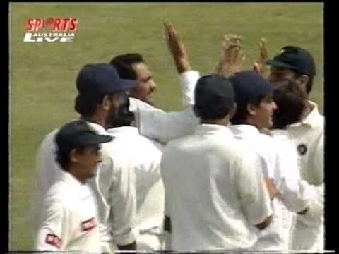 GREAT CATCH Mohammad Azharuddin - fastest Indian bowler ever David Johnson