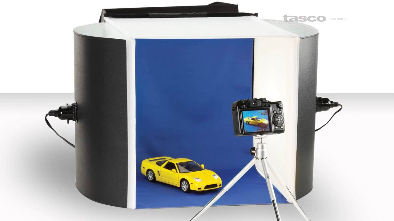 portable photo studio by optex youtube